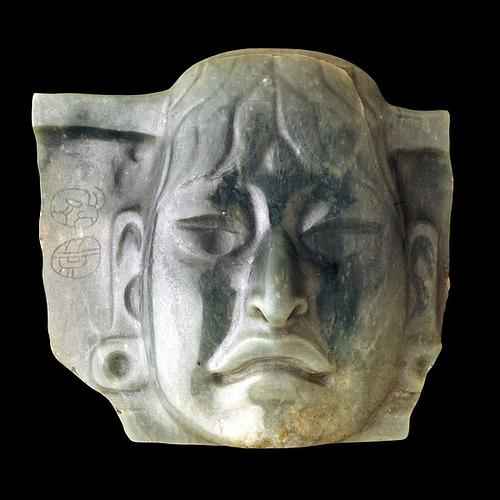 014-Pectoral de Jade Olmeca- 1000-600 aC- México -© Trustees of the British Museum