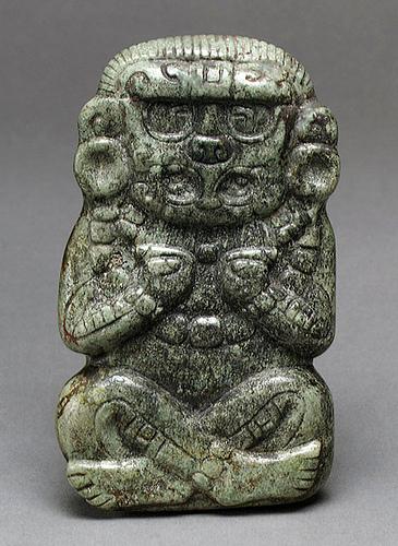 004  -Deidad de jade-siglos III al VI Honduras