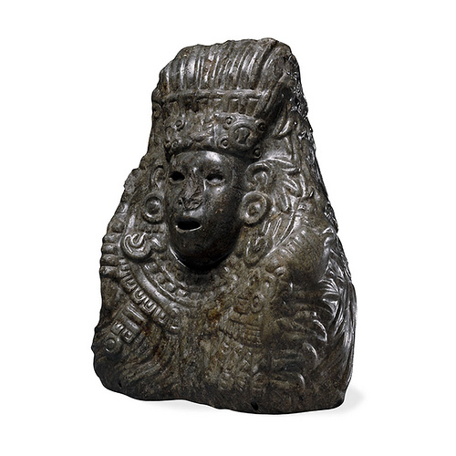 017- Busto de piedra de Quetzalcóatl- Azteca- AD 1325-1521-Mexico-© Trustees of the British Museum